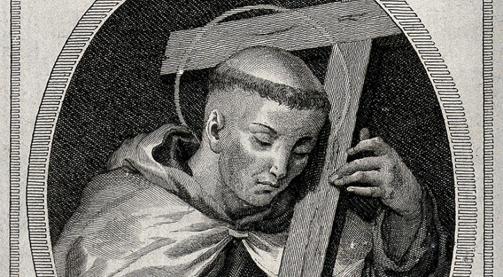 Engraving of Saint John Joseph of the Cross