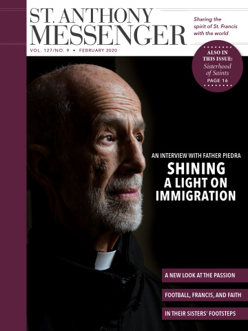 February cover shining a light on immigration